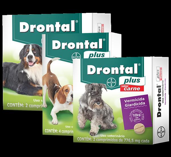 Drontal® Plus Carne, é proteção eficaz contra vermes e giárdia