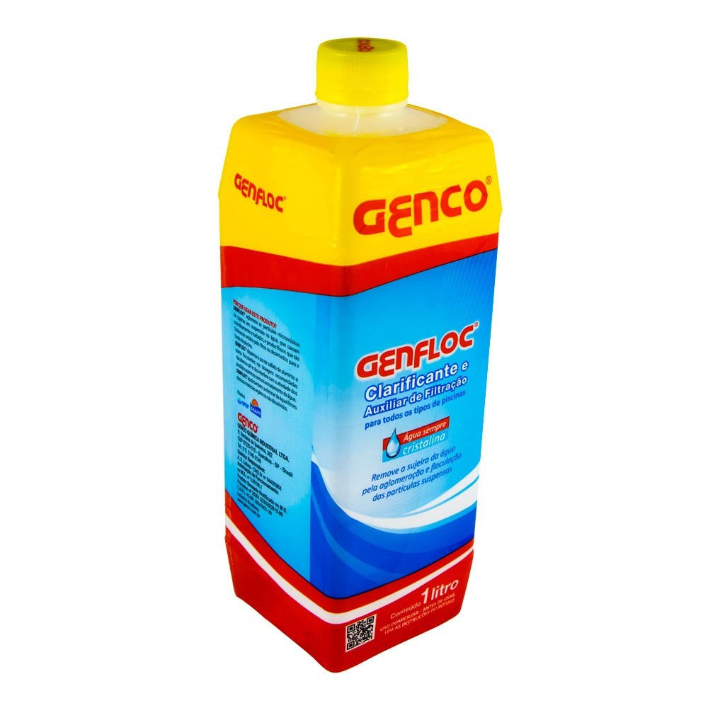 GENFLOC® Clarificante e Auxiliar de Filtração GENCO