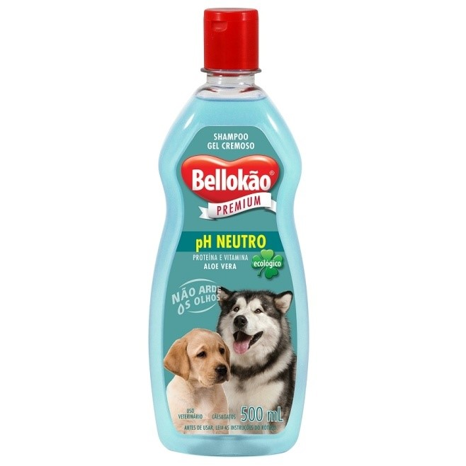 Shampoo Bellokão Neutro para Cães e Gatos - 500ml