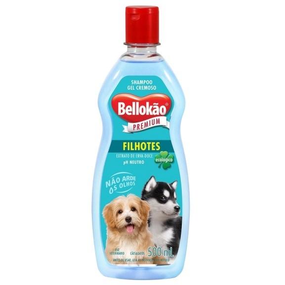 Shampoo Bellokão para Cães e Gatos Filhotes - 500ml